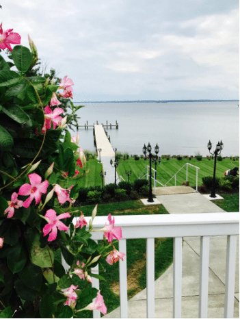 waterfront wedding venue