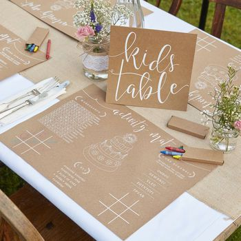 kids table ideas