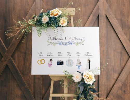 3 ways to share your wedding day timeline