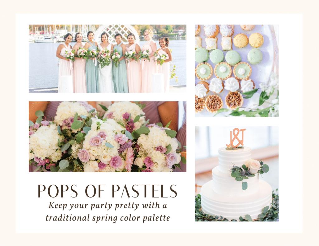 spring wedding theme ideas 2021